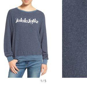 Wildfox falalalatke sweater XS